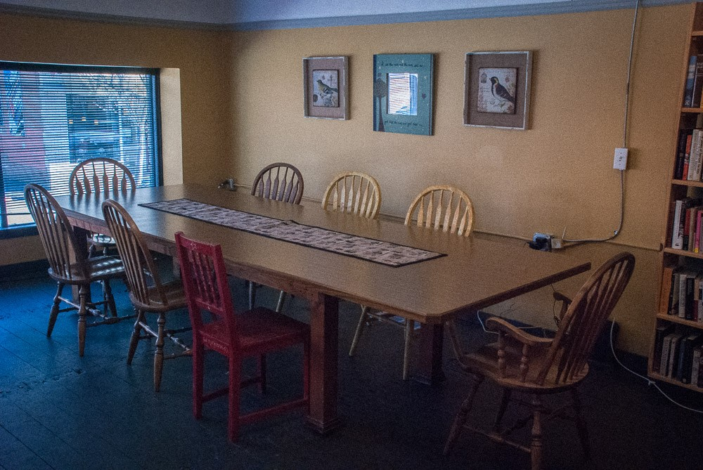 Dudley's Upstairs Conference Table